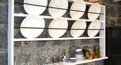 Plate Shelves, Plate Racks, Wooden Plates, Decorative Plates, Danish Style, Scandinavian Style, Bathroom Medicine Cabinet, Interior Decorating, House Styles