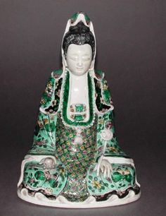 Title:  Guanyin  Maker(s) & Production:  Unknown, production, China  Collection:  Leonard D. Cunliffe bequeathed  Category:  porcelain  Name:  figure