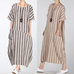 Kaftan, Caftan Dress, Fashion Sewing, Boho Fashion, Fashion Dresses, Simple Dresses, Short Sleeve Dresses, Long Shirt Dress, Maxi Robes