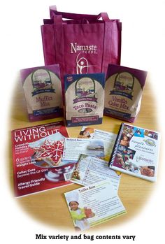 Namaste Foods Gift Bag Giveaway