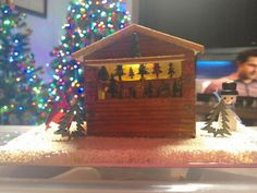 1/48 scale christmas stall