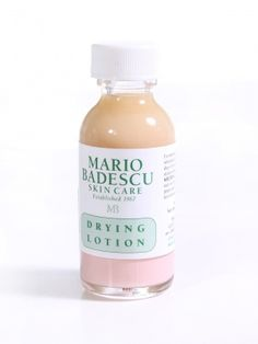 Drying Lotion is an excellent spot treatment made with a blend of Calamine and Salicylic Acid to clear up and soothe unsightly whiteheads overnight. A dab of this lotion will heal and dry pimples quickly.