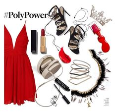 """""""Girl Power"""" by iiannanasii on Polyvore featuring Ally Fashion, Paul Andrew, BUwood, Chanel, Topshop, Bobbi Brown Cosmetics, L'Oréal Paris and Estée Lauder"""