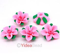 fimo flowers