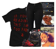 """"""""""" by kennisha84 ❤ liked on Polyvore featuring ZeroUV, MCM, Happy Plugs, NARS Cosmetics and NIKE"""