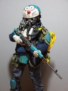 Post Apocalyptic Costume, Post Apocalyptic Art, Custom Action Figures, Vinyl Figures, Game Character Design, Character Art, Realistic Cartoons, Arte Robot, Airsoft Mask