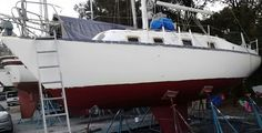 1st coat of hull and bottom paint