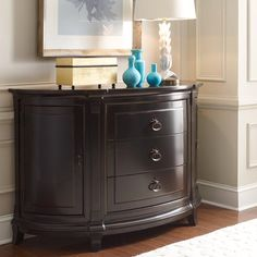 Demilune Chest - HGTV Home Furniture Collection
