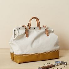 I mean...I'd carry that around daily! Heritage Leather Reinforced Mason Bag