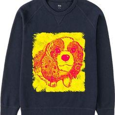 キャバリアキングチャールズスパニエルの暖かいスウェットです  #UTme#ユニクロ#suzurijp#suzuri#MailOrder#ClothesDesign#crayonspencils#Tシャツデザイン#定期ポスト