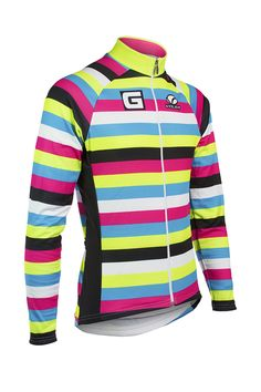 Voler  GHETO CX  Mr. Stripey  Men s Thermal L S Jersey Cycling e397c4110
