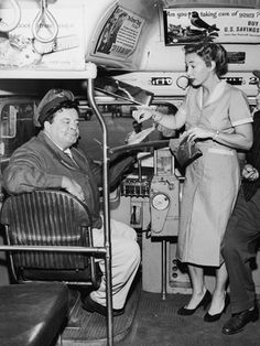 "Workwear: Audrey Meadows on ""The Honeymooners,"" 1956"