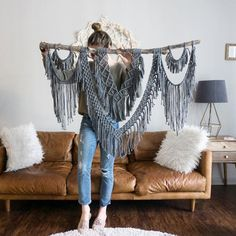 Dope Rope Large 44 Macrame Wall Hanging / tapestry /   Etsy