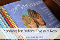 Here's a detailed guide to planning Before Five in a Row. I used this program with my youngest, and it was a wonderful year of learning! Homeschool Preschool Curriculum, Preschool At Home, Preschool Ideas, Homeschooling, Educational Activities For Kids, Montessori Activities, Five In A Row, The Row, Pre-school Books