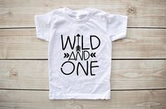 Wild one first birthday shirt wild and one birthday by Our5loves