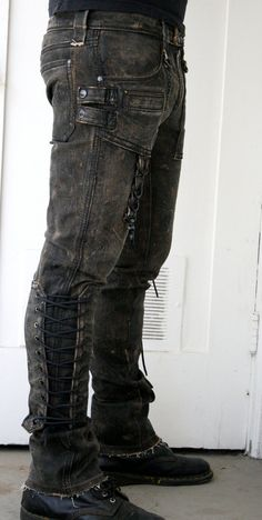 866430f6acf I can see just about any of my characters in something like this (Corded  denim pant by BoneBlack on Etsy):. Yaacov Friedman · pantalones de trabajo