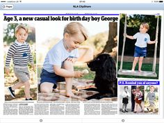 "Rebecca English on Twitter: ""In today's #DailyMail, those gorgeous George…"