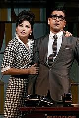 John Stamos and Gina Gershon star in the Roundabout Theatre Company revival of Bye Bye Birdie, currently playing the new Henry Miller's Theatre on Broadway. Bye Bye Birdie, Gina Gershon, Musical Theatre Broadway, John Stamos, Henry Miller, Hooray For Hollywood, The Best Films, Elvis Presley, Costume Design