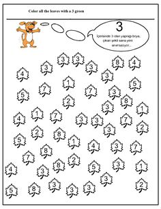 number hunt worksheet for kids (11) | Crafts and Worksheets for Preschool,Toddler and Kindergarten