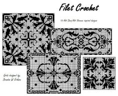 Filet Crochet: 10 Deco/Nouveau Designs by Brandon W Erikson. $4.90. Publisher: Brandon W Erikson; 1 edition (February 6, 2013). Filet Crochet - not as difficult as it looks! This book covers a brief description of how to work the filet grids and will get you started creating beautiful heirloom quality pieces in just minutes. 10 grid patterns based on Art Deco/Nouveau style designs. Show more Show less