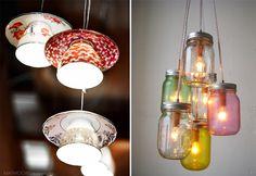 I know how to make the mason jar lights now.  Ooh la la