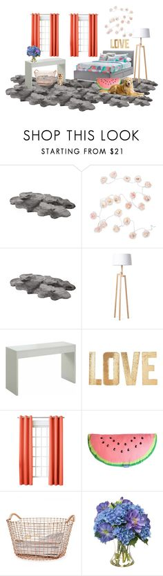 """""""teen awesome room"""" by beau-ward ❤ liked on Polyvore featuring interior, interiors, interior design, home, home decor, interior decorating, Talking Tables, UGG Australia, Rove Concepts and PBteen"""