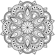 mandala coloring pages for adults for android ios and windows phone - Coloring Packets