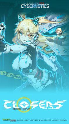 002 Yuri Cybernetics Phone Wallpaper [A] Resolution 720 x 1280