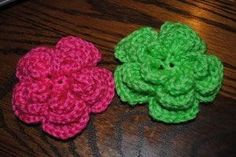 Triple Threat Flower free crochet pattern This unique flower is easy and fun to work up and would be a great addition to any hat.  It would also make a great pin, flower barrette or headband.    Materials 4.0mm hook Caron's Simply Soft Tapestry needle for weaving in ends Abbreviations tr-  treble crochet- tutorial here [...]