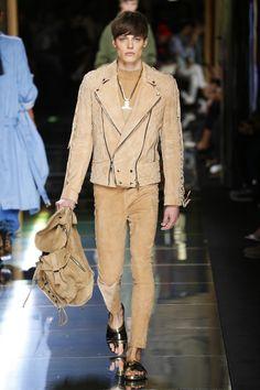 Balmain   Menswear - Spring 2017   Look 14