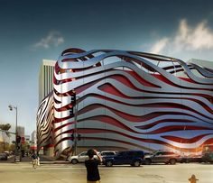 Amazing New Petersen Automotive Museum in Los Angeles, CA by Kohn Pedersen Fox Associates