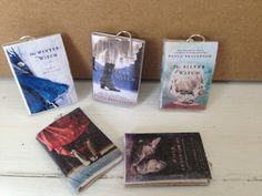 Free mini book charms on the goodreads giveaway!