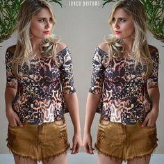#regram com a cliente Gabi que elegeu a blusa e saia denim lançamento #winter15 para o look do dia! #lplovers #lancaperfume #collection #jeans  Blusa disponível aqui: lpeshop.com.br/185958