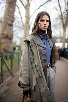London Fashion Week Street Style RTW Fall 2016