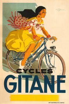 Cycles Gitane ~ Signed