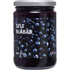 SYLT BLÅBÄR Blueberry jam (66 ARS) ❤ liked on Polyvore featuring home, kitchen & dining, food, fillers and magazine