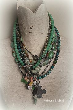 A Re-Purposed Life: Working,Working. Tribal Jewelry, Diy Jewelry, Vintage Jewelry, Jewelry Necklaces, Jewelry Design, Jewelry Making, Jewelry Ideas, Jewellery, Winter Light