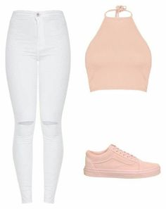 A fashion look from october 2017 by vicky-skoufh featuring boohoo and vans. Outfits For Teens, Stylish Outfits, Cool Outfits, Summer Outfits, Cute Fashion, Teen Fashion, Fashion Looks, Womens Fashion, Blazer Fashion