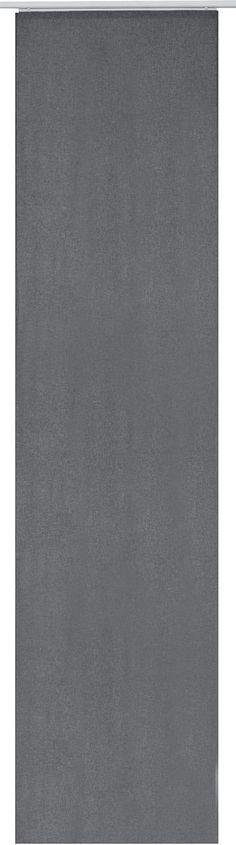 Details Aufhängung Klettband:  Der Artikel wird ohne Paneelwagen und Beschwerungsstange geliefert. Den passenden Paneelwagen incl. Beschwerungsstange können Sie unter Zubehör finden.,  Design:  Glatte Oberfläche, Unifarben,  Material:  100 % Polyester,  Pflegehinweis:  waschbar bei 30 Grad, Schonwaschgang, pflegeleicht,  Wissenswertes:  Maße = Stoffmaße, Schiebevorhänge können ideal als Raumt...
