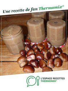 Ze Crème de marrons (la vraie, la seule !) par LaFouine94. Une recette de fan à retrouver dans la catégorie Desserts & Confiseries sur www.espace-recettes.fr, de Thermomix<sup>®</sup>.