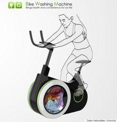 La bike washing machine !