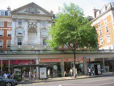 BIBA by Polish designer Barbara Hulanicki third shop 124-126 Kensington High Street by W10