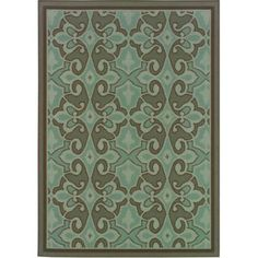 Medallion Outdoor Rugs - More Colors Available