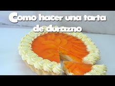 Como hacer una Tarta de durazno - YouTube Banana Pie, Pan Dulce, Pineapple, Birthday Cake, Make It Yourself, Baking, Fruit, Desserts, Food
