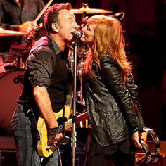 Bruce Springsteen Wedding Songs - Bruce Springsteen Patti Scialfa | Wedding Planning, Ideas & Etiquette | Bridal Guide Magazine