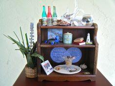 BEACH HOUSE Dollhouse Miniature Furniture by larkinbirdvintage