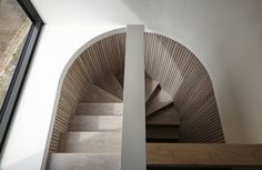 Cast In Place Stair Nosing — Stair Railing Design Interior Staircase, Modern Staircase, Railing Design, Staircase Design, Stair Design, Architecture Design, Escalier Design, Stair Handrail, Railings