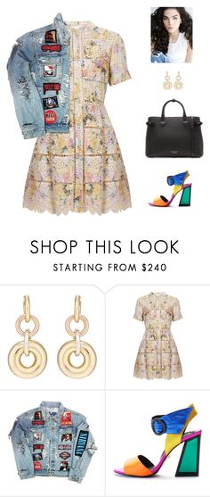 """glam rock"" by candynena228 ❤ liked on Polyvore featuring SPINELLI KILCOLLIN, Zimmermann, Kat Maconie and Burberry"
