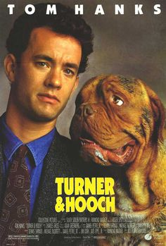 Turner and Hooch posters for sale online. Buy Turner and Hooch movie posters from Movie Poster Shop. We're your movie poster source for new releases and vintage movie posters. Great Films, Good Movies, Teen Movies, Awesome Movies, Funny Movies, Tom Hanks Filme, Turner And Hooch, Tom Hanks Movies, Image Film