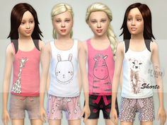 Sims 4 Clothing sets
